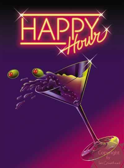 healthier happy hour