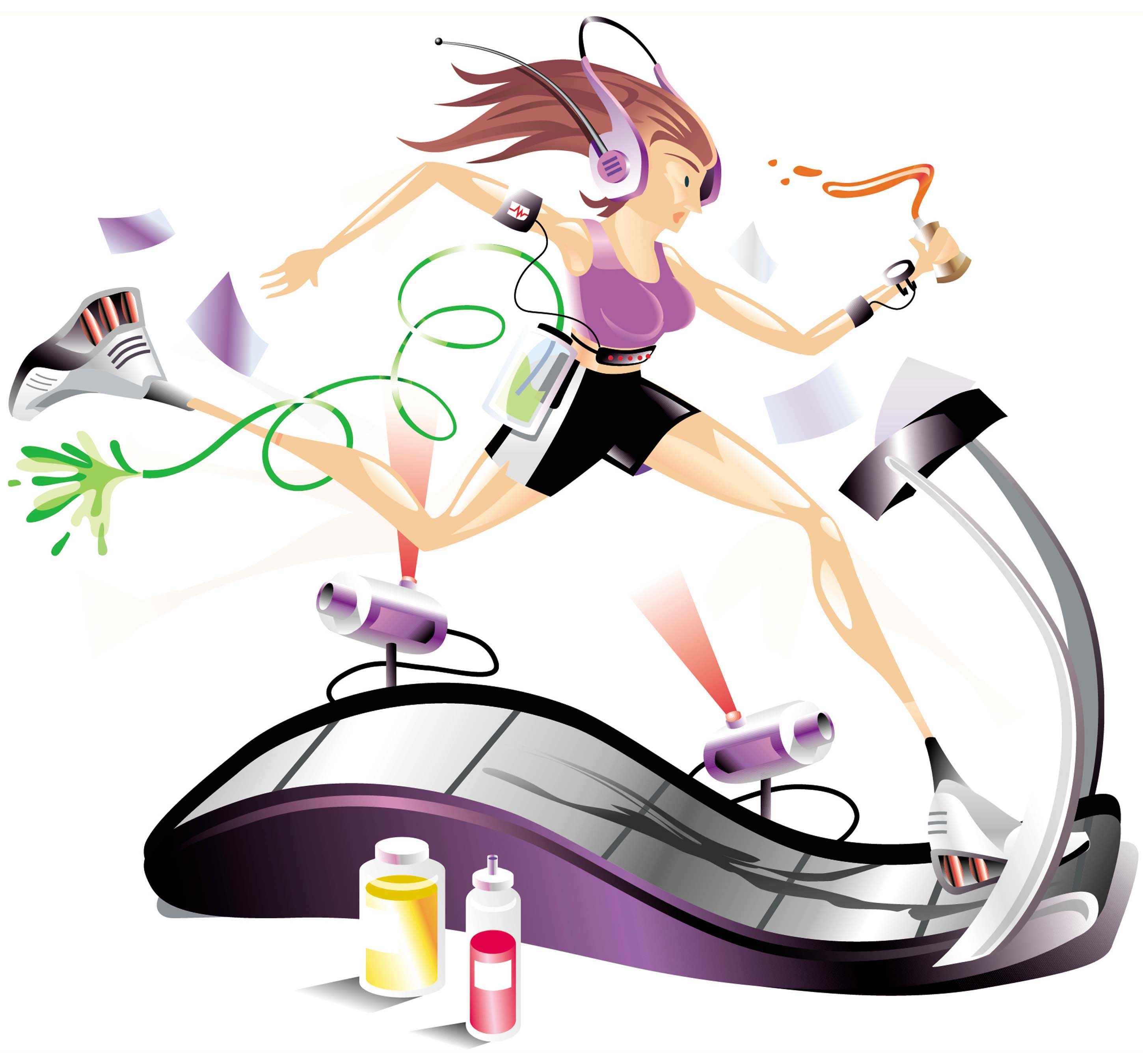 treadmill exercise calorie burn